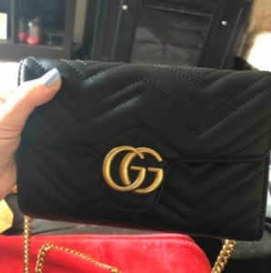 Gucci GG Marmont matelassé Shoulder Cross body Bag